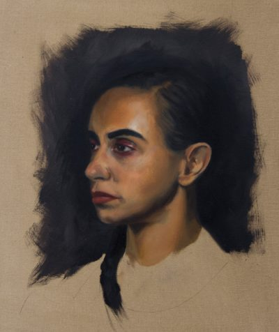 Alla Prima Oil Painting Portrait From Life