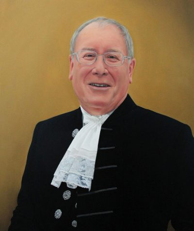 Portrait Painting in Oil of High Sheriff of Cumbria