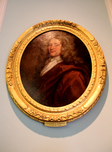 Oval Portrait by John Baptist Medina at the Royal College of Surgeons of Edinburgh