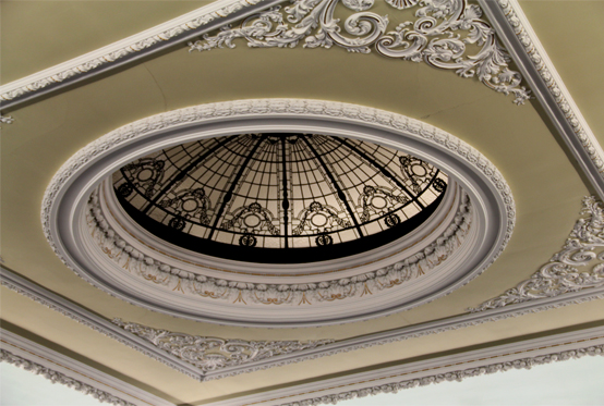 Ceiling of Playfair Hall, Edinburgh