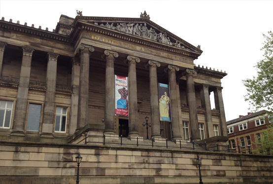 The Harris Museum and Art Gallery in Preston