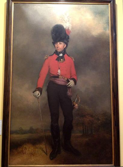 Military Portrait painting by Arthur William Devis.
