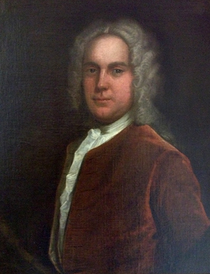Portrait painting of Dr Richard Shepherd by Hamlet Winstanley.