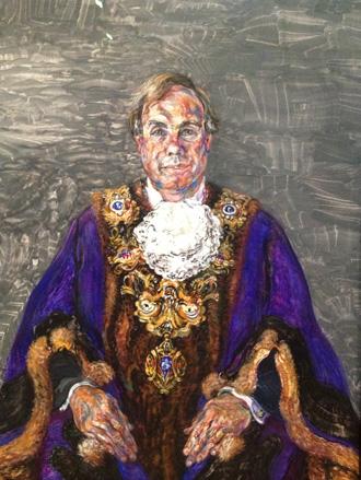 Portrait of the Guild Mayor of Preston.