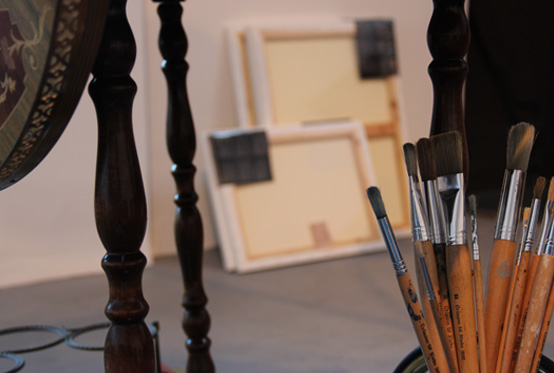 Portrait Painter's Brushes