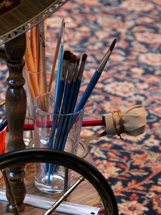 Portrait Painter's Mahl Stick
