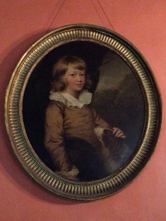 Portrait of a Boy with a Spaniel