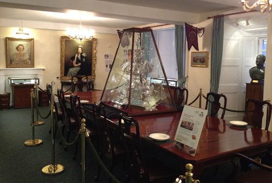 Inside the Argyll & Sutherland Highlanders Regimental Museum