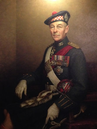 Portrait Painting of General Sir Gordon H. A. Macmillan by Leonard Boden