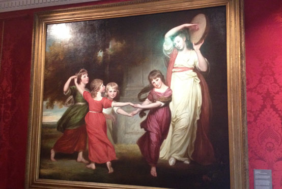 Painting of The Gower Children by George Romney