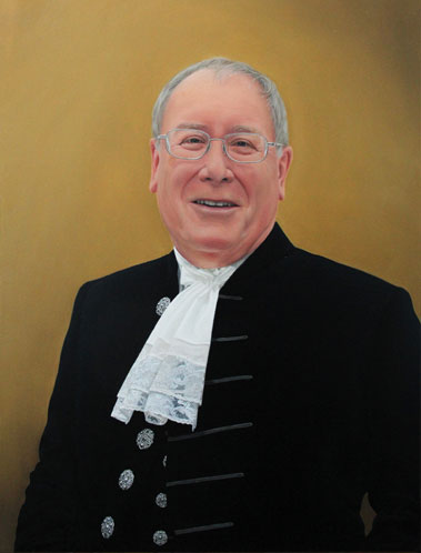 Portrait Painting of High Sheriff of Cumbria