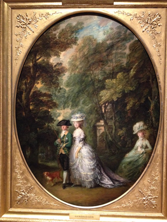 Royal Portrait Painting by Thomas Gainsborough