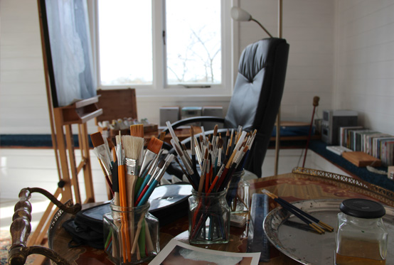Portrait Artist's Workstation