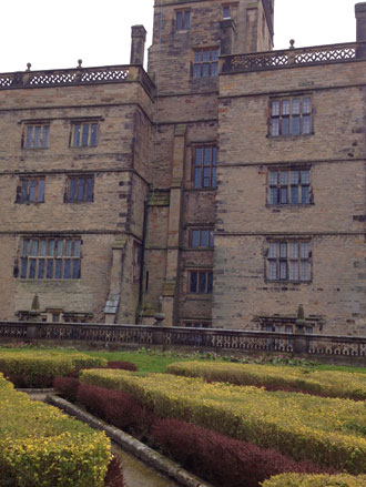 Gardens at the rear of Gawthorpe Hall