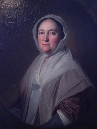 Portrait of Mary Rawlinson by George Romney