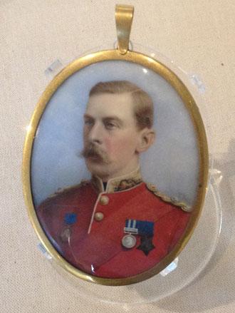 Military Portrait Miniature