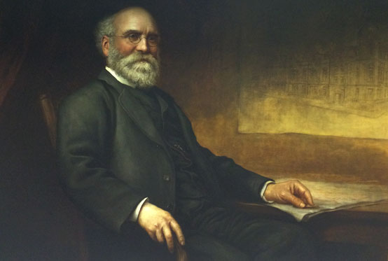 Portrait of Sir Thomas Storey by Karl Klic