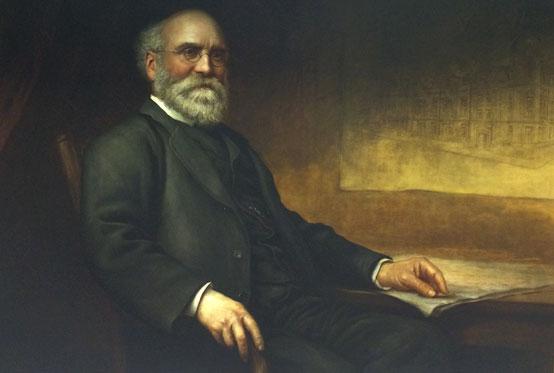 Portrait of Sir Thomas Storey by Karl Klic