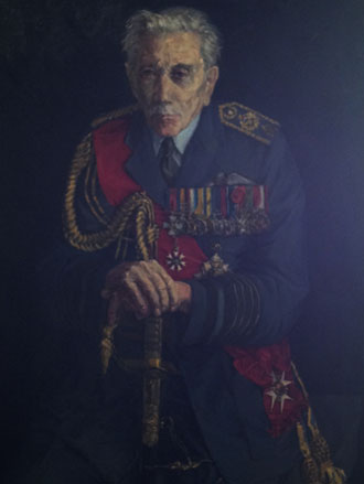 Portrait of Sir John Salmond by Roy Kearsley
