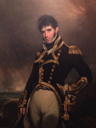 Portrait of William Owen – Captain Gilbert Heathcote RN