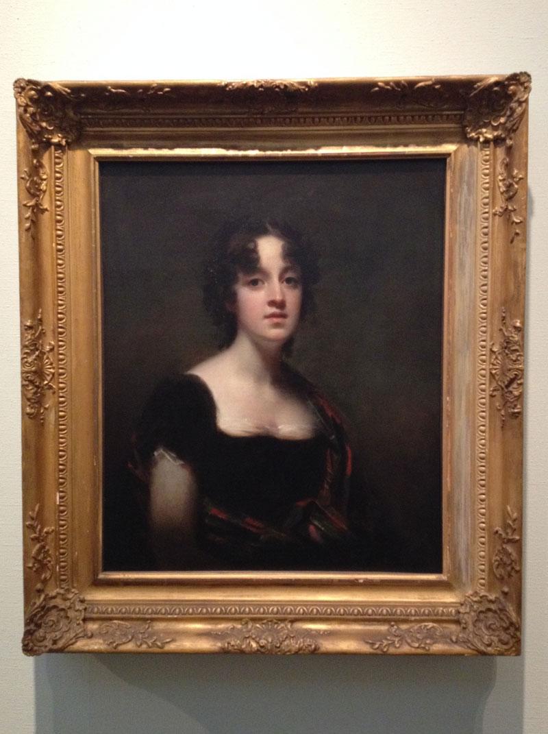 Painting of Mrs Farquharson of Finzean by Sir Henry Raeburn