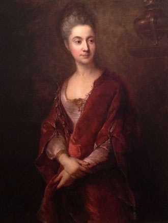 Portrait of Jeanne Cotelle by François de Troy