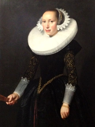 Portrait of a Woman by Nicolaes Eliasz Pickenoy