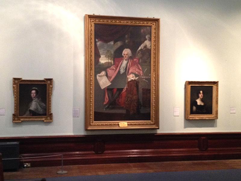 Portraits by Romney, Reynolds and Raeburn