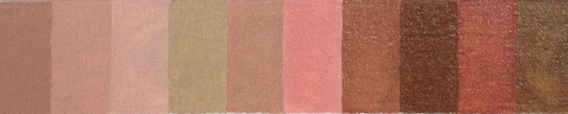 Oil Paint Warm Complementary Palette