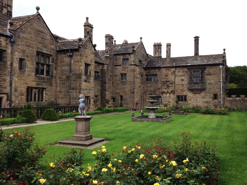 Tudor Gardens at Hoghton Tower