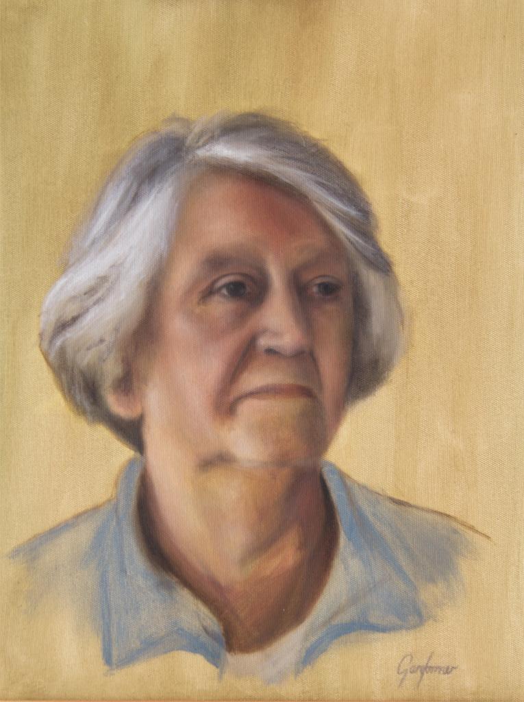 Alla Prima Oil Portrait Study - Joyce