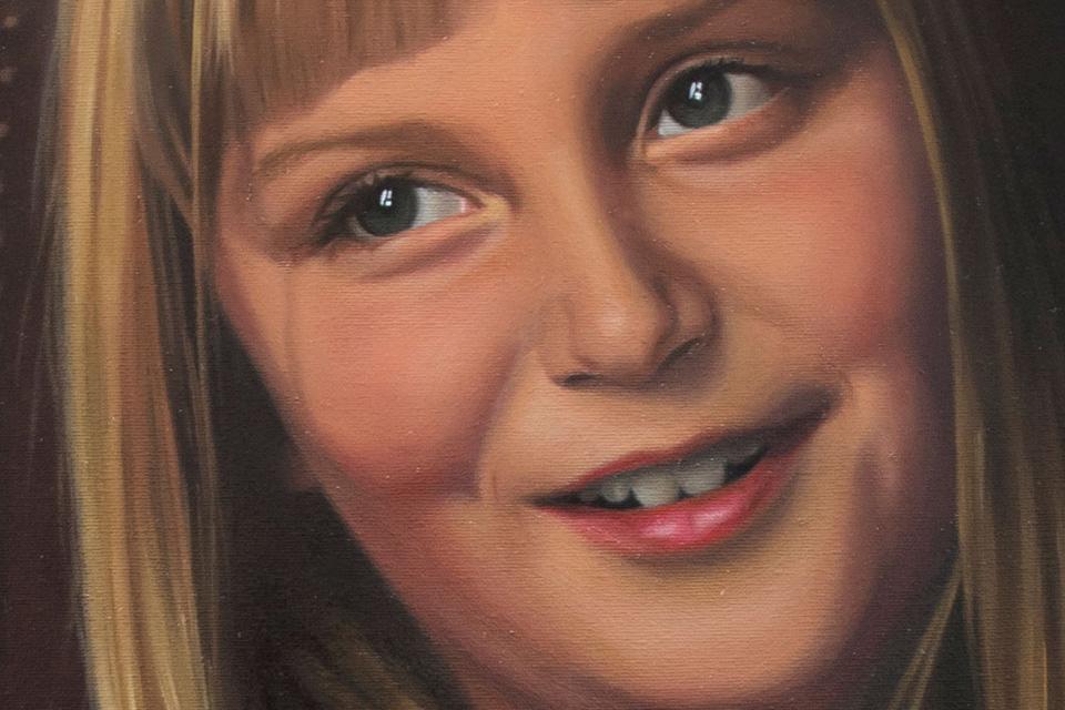 Betty Portrait Detail