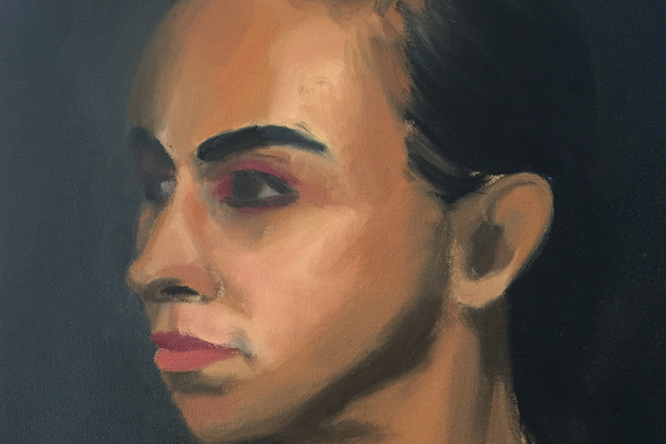 Maya Oil Colour Study