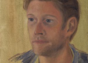 Oil Painting Study of Young Man