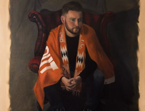 Portrait Selected for the 21st National Open Art Exhibition