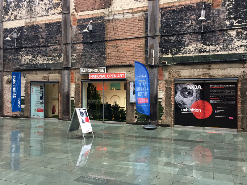 The National Open Art Exhibition at Bargehouse, Oxo Tower Wharf