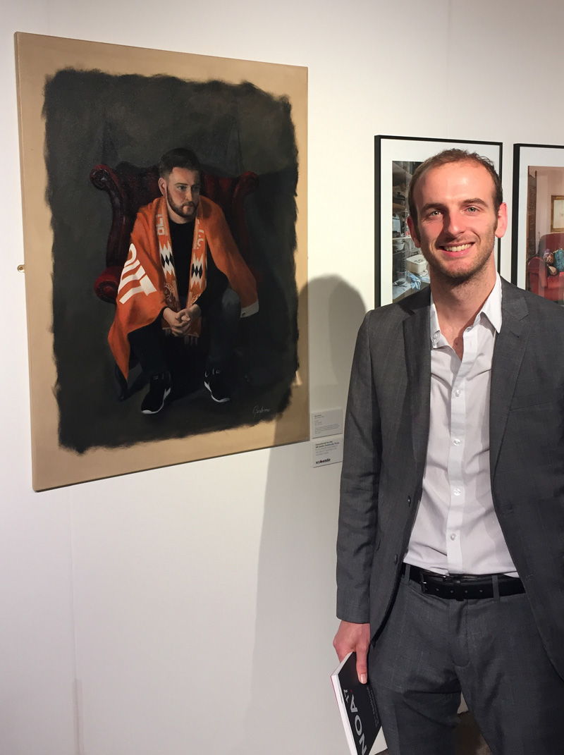 Gary Armer at the NOA Private View 2017