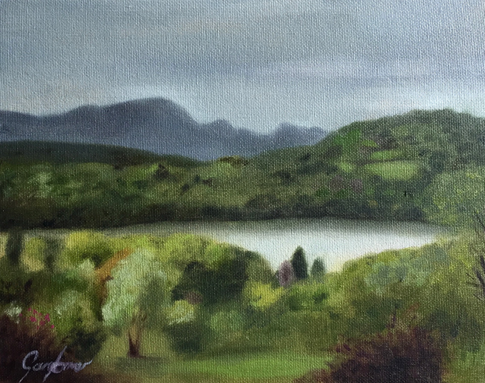 Lake Windermere Plein Air Painting
