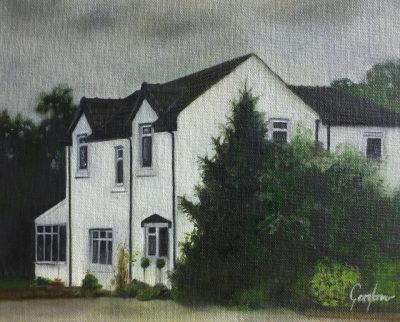 Painting of Townsdales Farm