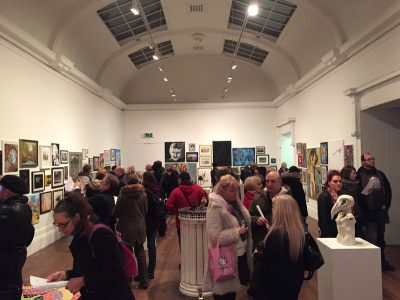 The Grundy Open Art Exhibition 2018 Opening