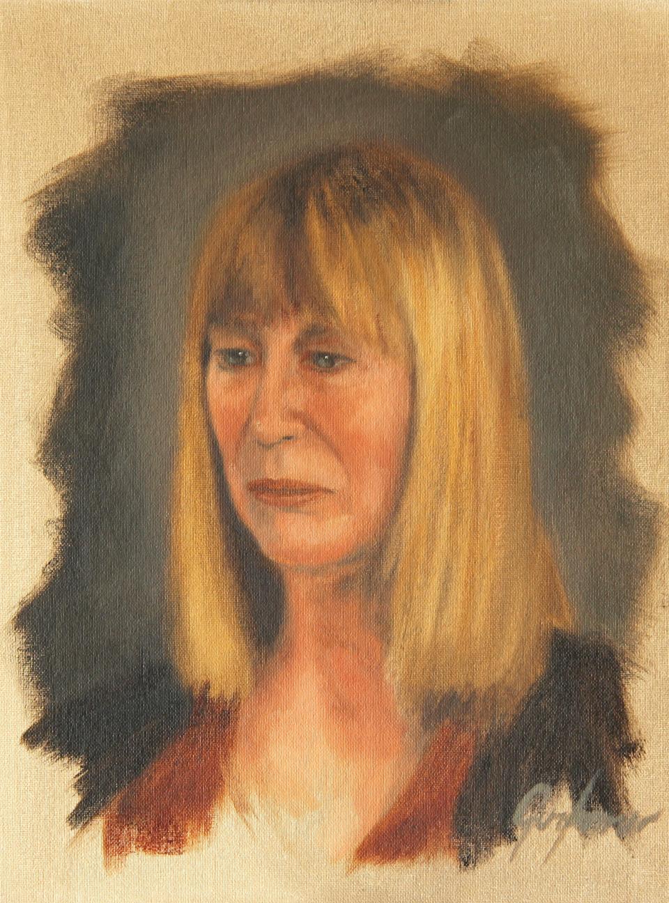 Alla Prima Portrait Study of Gill