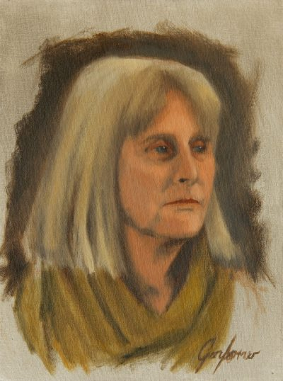 Alla Prima Painting of Norma