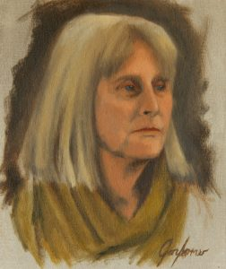 Alla Prima Portrait Painting of Norma