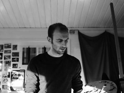Gary Armer Artist in Studio