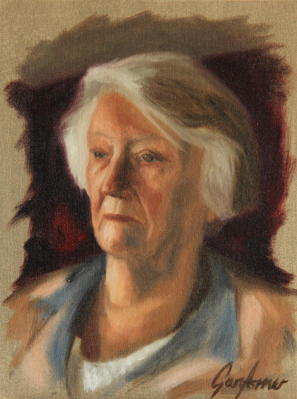 Alla Prima Portrait of a Lady