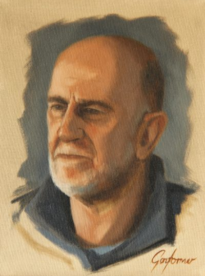 Alla Prima Portrait of a Man with a Beard