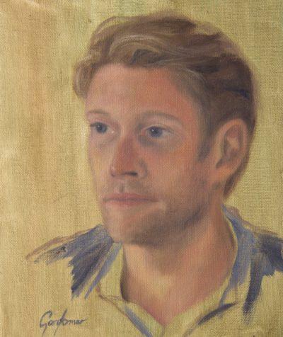 Alla Prima Portrait of Young Man