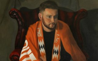 Blackpool FC Fan Painting
