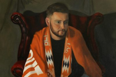 Blackpool FC Fan Painting