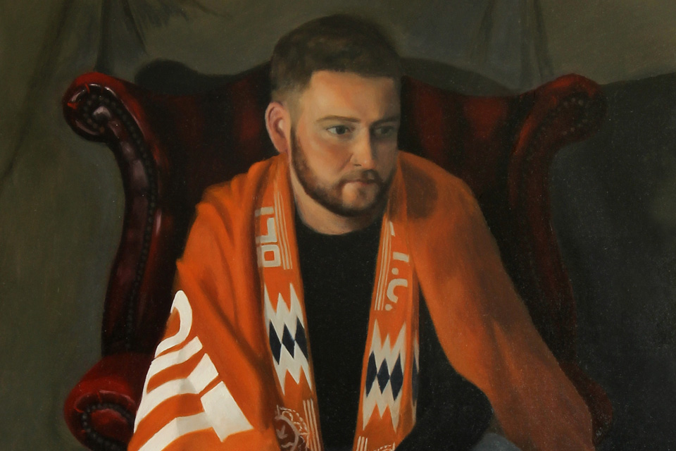 Blackpool FC Fan Painting by Gary Armer